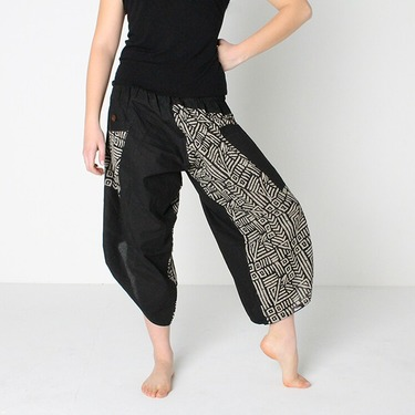 Dapper Mazy Harem Summer Pants Ghodo - 3