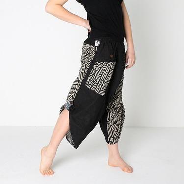 Dapper Mazy Harem Pantalones Anchos Ghodo - 4