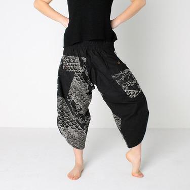 Dapper Koi Harem Pantalones Anchos Ghodo - 3