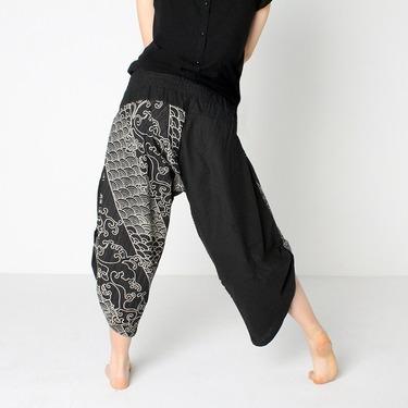 Dapper Koi Harem Pantalones Anchos Ghodo - 5