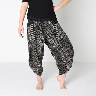 Avenue Rumble Pantalone Harem Estivo Ghodo - 3