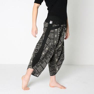 Avenue Rumble Harem Pantalones Anchos Ghodo - 4
