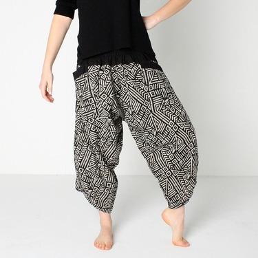 Avenue Mazy Harem Pantalones Anchos Ghodo - 3