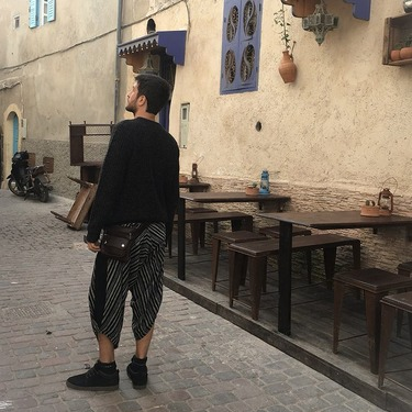Avenue Row Pantalone Harem Estivo Ghodo - 8