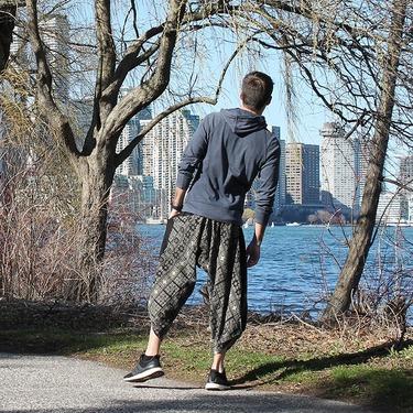Avenue Rumble Harem Pantalones Anchos Ghodo - 7