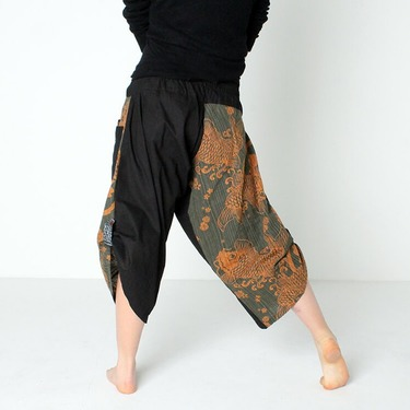 Dapper Spring Harem Pantalones Anchos Ghodo - 5