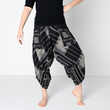 Avenue Square Harem Summer Pants Ghodo - 3