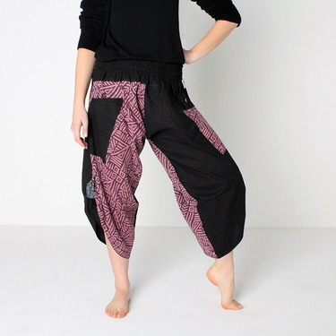 Dapper Maya Harem Summer Pants Ghodo - 3