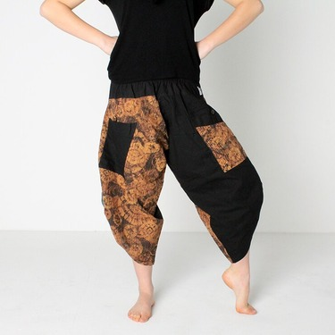 Dapper Fancy Harem Pantalones Anchos Ghodo - 3