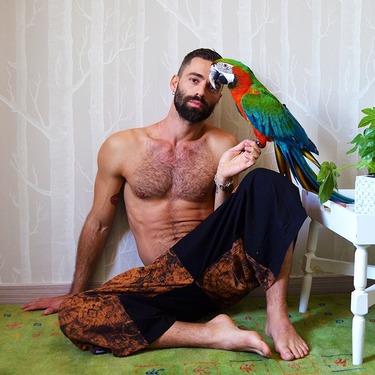 Dapper Fancy Harem Pantalones Anchos Ghodo - 9