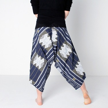 Avenue Summer Harem Pantalones Anchos Ghodo - 3