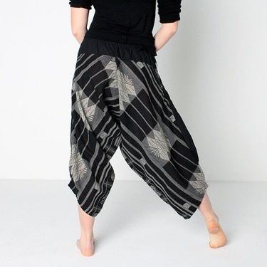 Avenue Square Harem Summer Pants Ghodo - 5