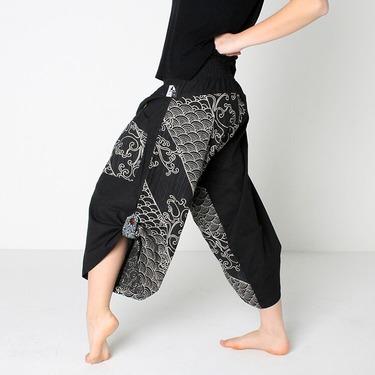 Dapper Koi Harem Pantalones Anchos Ghodo - 4