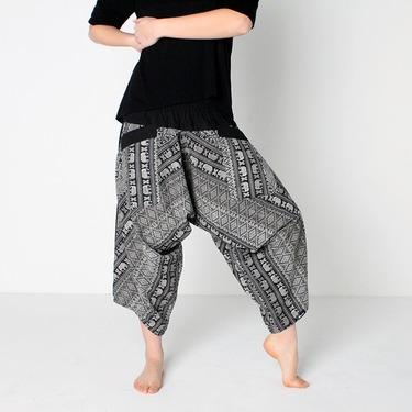 Avenue Elephant Harem Pantalones Anchos Ghodo - 3