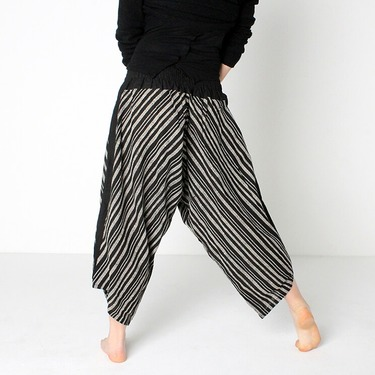 Avenue Row Harem Pantalones Anchos Ghodo - 5