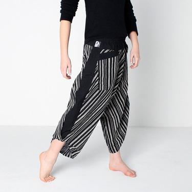 Avenue Row Harem Pantalones Anchos Ghodo - 4