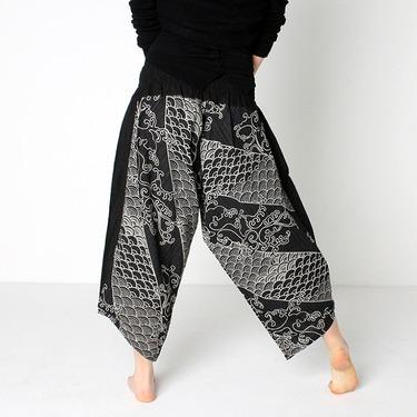 Avenue Koi Harem Pantalones Anchos - 5