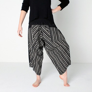 Avenue Row Harem Pantalones Anchos Ghodo - 3