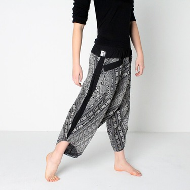 Avenue Elephant Harem Summer Pants Ghodo - 4