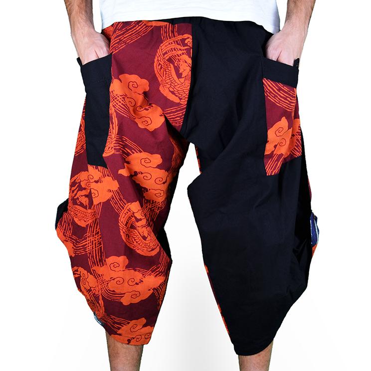 Dapper Bose Harem Pantalones Anchos Ghodo - 1