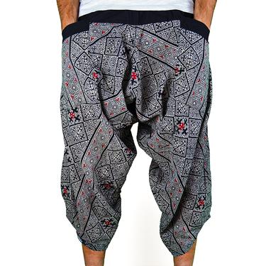 Avenue Cross Harem Pantalones anchos Ghodo - 2