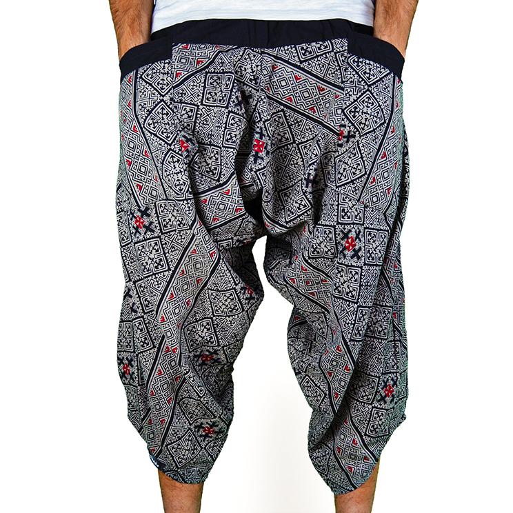 Avenue Cross Harem Pantalones anchos Ghodo - 1