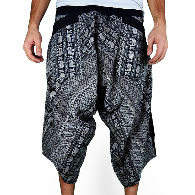 Avenue Elephant Harem Summer Pants Ghodo - 1