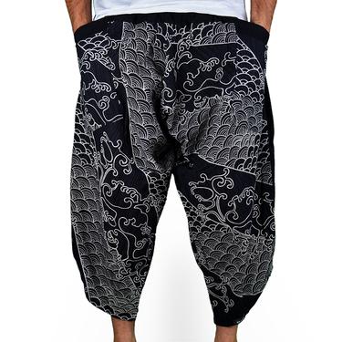Avenue Koi Harem Pantalones Anchos - 2
