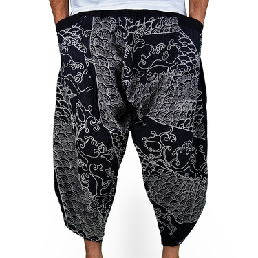 Avenue Koi Harem Summer Pants - 2