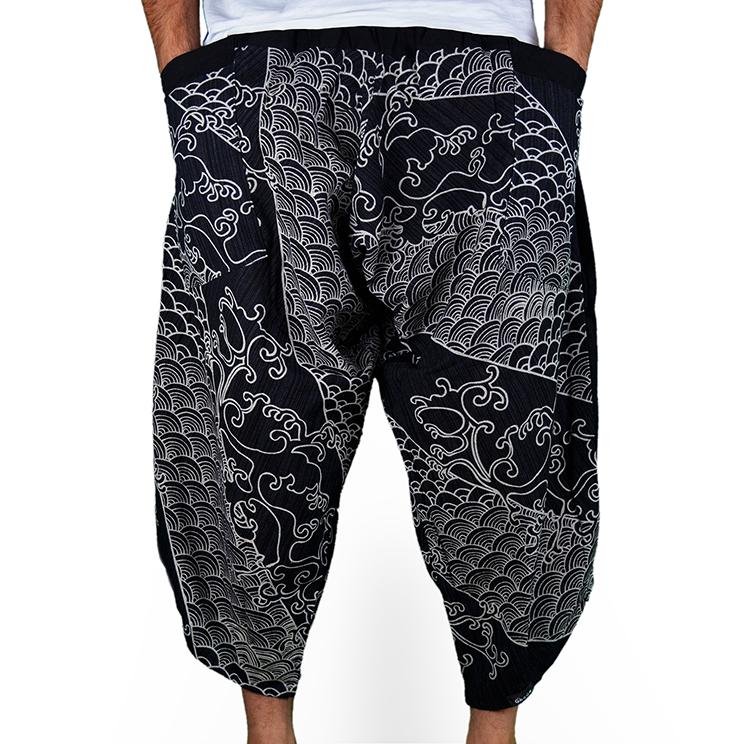 Avenue Koi Harem Pantalones Anchos - 1