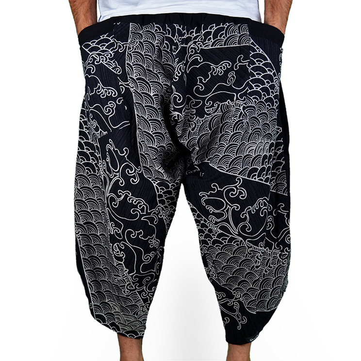 Avenue Koi Harem Summer Pants - 1