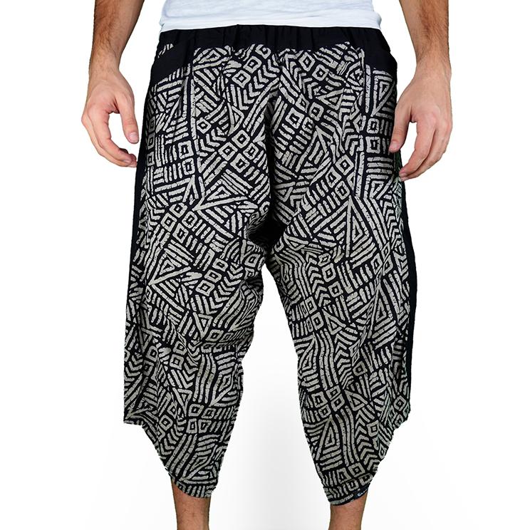 Avenue Mazy Harem Pantalones Anchos Ghodo - 1