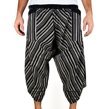 Avenue Row Harem Pantalones Anchos Ghodo - 2