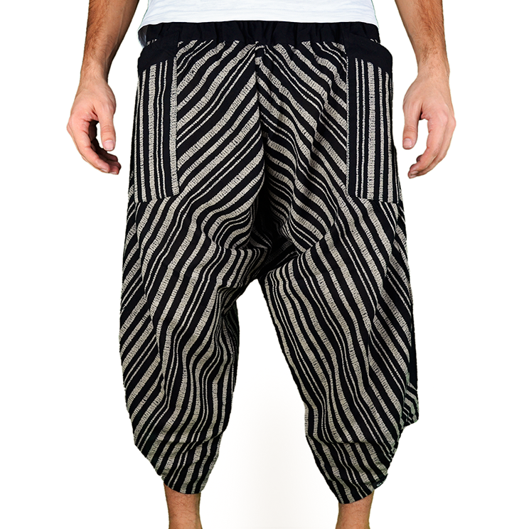 Avenue Row Harem Pantalones Anchos Ghodo - 1