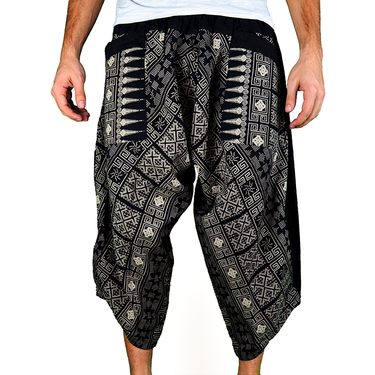 Avenue Rumble Harem Pantalones Anchos Ghodo - 2