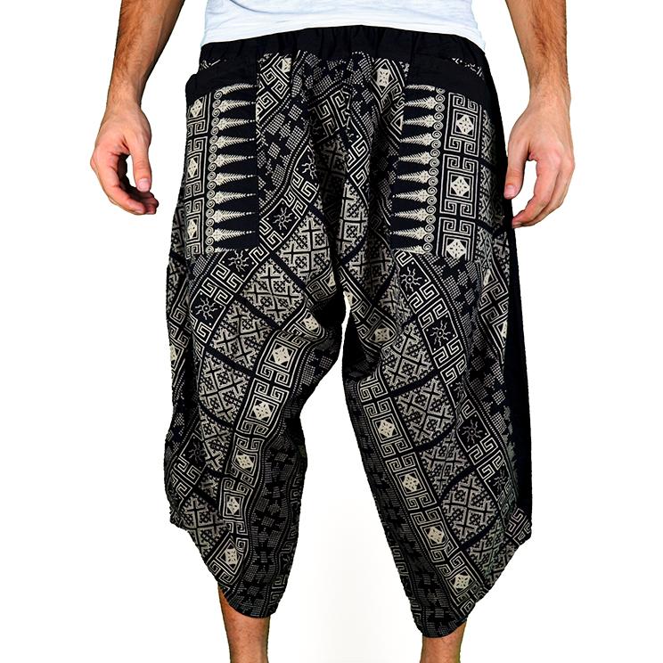 Avenue Rumble Harem Pantalones Anchos Ghodo - 1