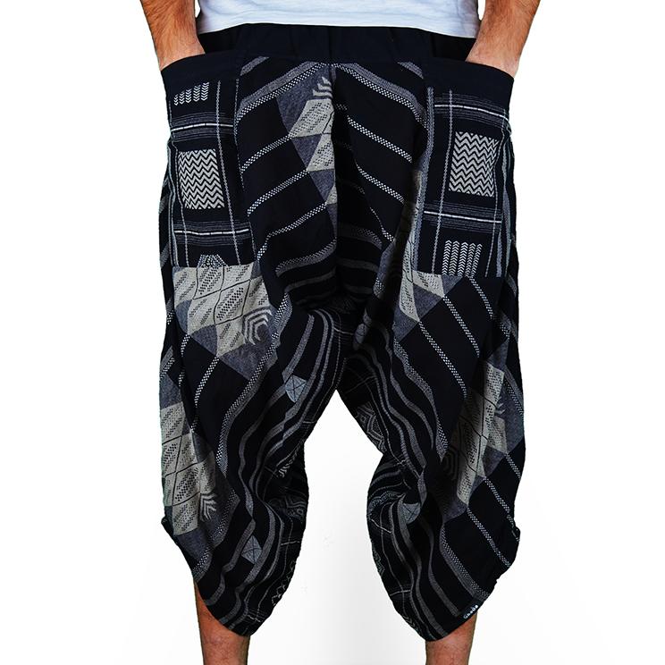 Avenue Square Harem Pantalones Anchos Ghodo - 1