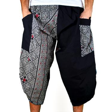 Dapper Cross Harem Summer Pants Ghodo - 2