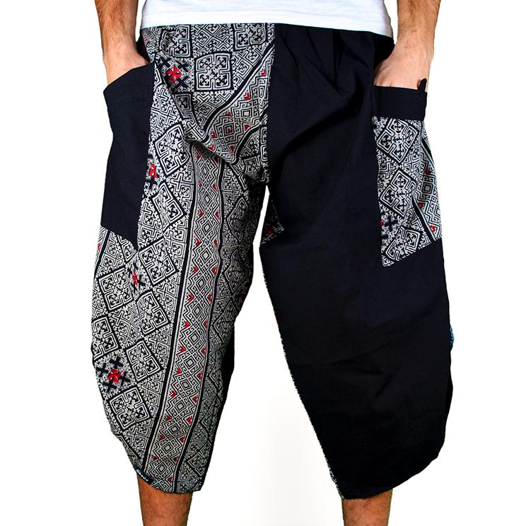 Dapper Cross Harem Summer Pants Ghodo - 1