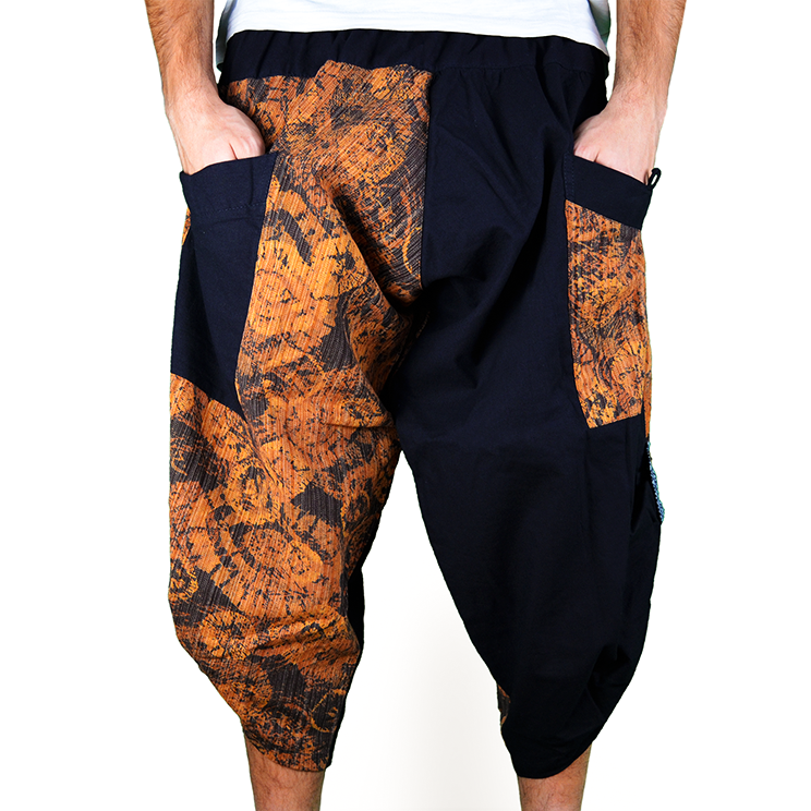 Dapper Fancy Harem Pantalones Anchos Ghodo - 1