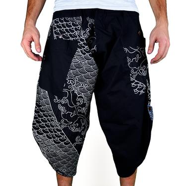 Dapper Koi Harem Pantalones Anchos Ghodo - 2
