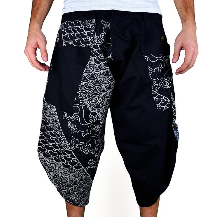 Dapper Koi Harem Pantalones Anchos Ghodo - 1
