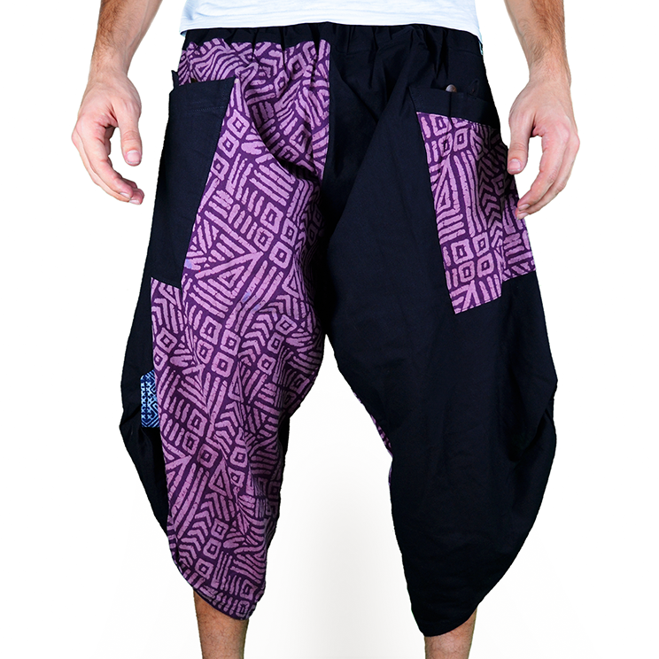 Dapper Maya Harem Pantalones Anchos Ghodo - 1
