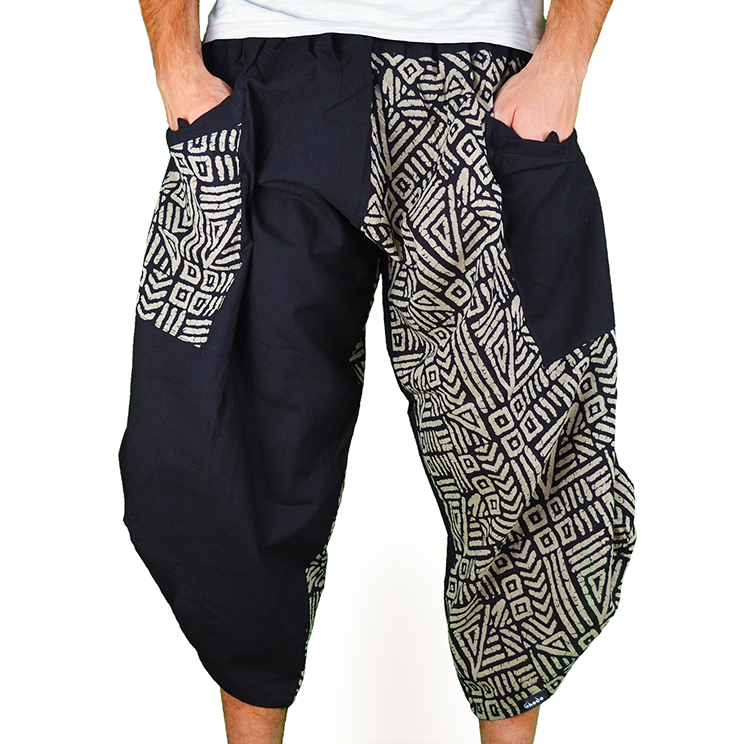 Dapper Mazy Harem Summer Pants Ghodo - 1