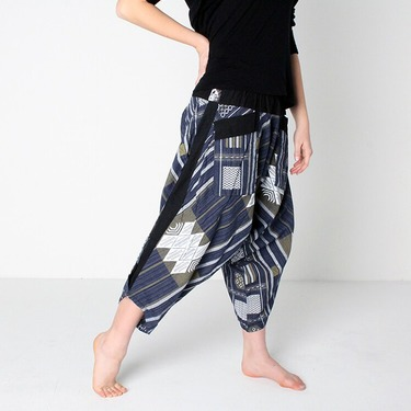 Avenue Summer Harem Summer Pants Ghodo - 4