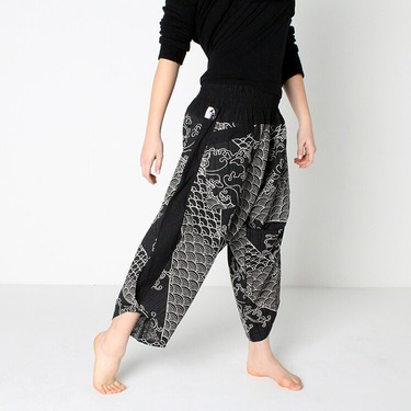 Avenue Koi Harem Summer Pants - 4