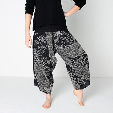 Avenue Koi Harem Summer Pants - 3